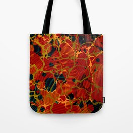 Marbelous Copper and Gold Tote Bag