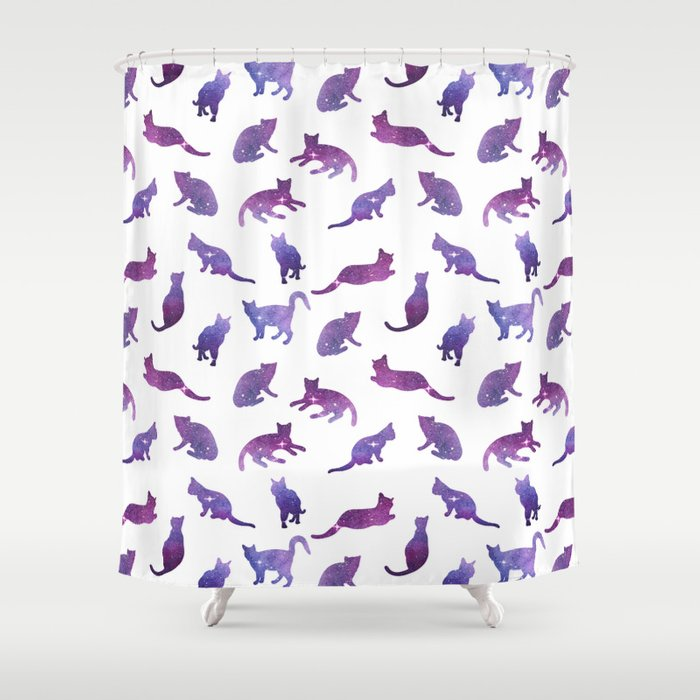 Cosmo cats Shower Curtain by artcolours | Society6