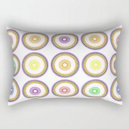 Pride Circle Pattern #2, Bingo Rectangular Pillow