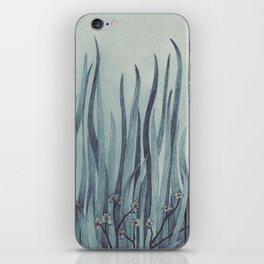 Green-Blue Grass iPhone Skin