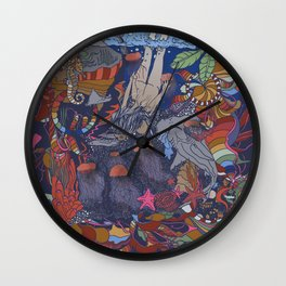Dive into the Unknown Wall Clock