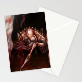 Caught in the Spider's Web Stationery Cards