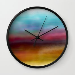 C for Colorful Wall Clock