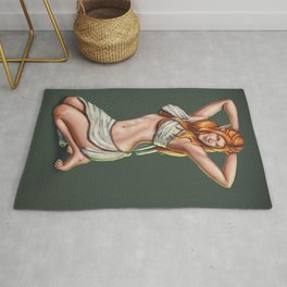 Elf Pin-up Commission Rug