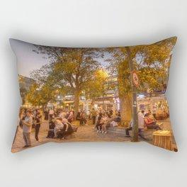 Istanbul At Night Rectangular Pillow