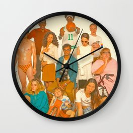Glass Animals - How to be a Human Being Wall Clock
