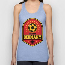 Germany Unisex Tank Top