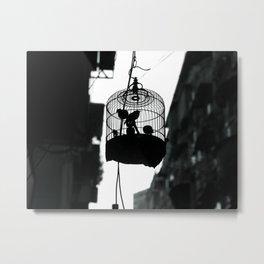 caged Metal Print