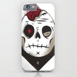 Totenkopf Zombie iPhone Case
