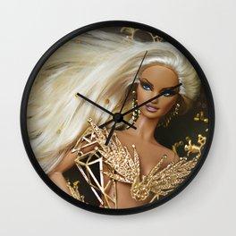 G O L D Wall Clock