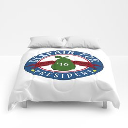 DESPAIR FOR PRESIDENT Comforters