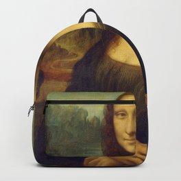 Classic Art - Mona Lisa - Leonardo da Vinci Backpack