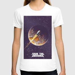 Tour the Universe - Sci fi poster T-shirt