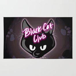 Black Cat Club Rug