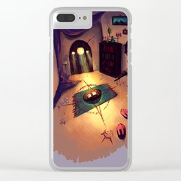 The Magician's Room Clear iPhone Case