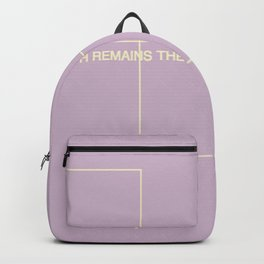 The Truth Remains The Same Backpack