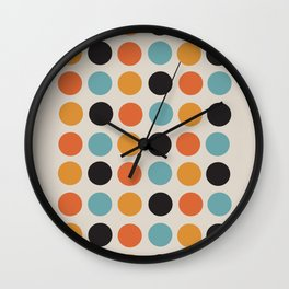 Bauhaus dots Wall Clock