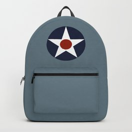 Vintage US Army Air Force Insignia Backpack