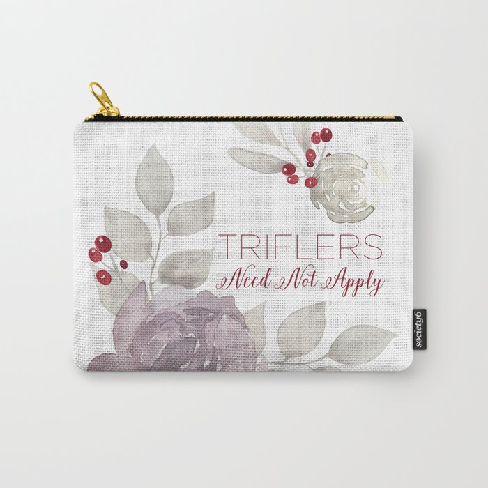 MFM: Triflers Need Not Apply Carry-All Pouch