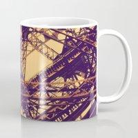 eiffel Mugs featuring Eiffel by adrianperive
