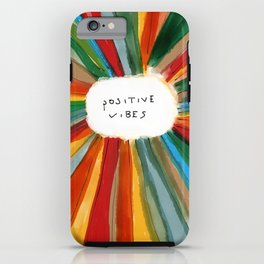 Positive Vibes iPhone Case