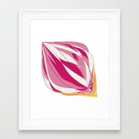 icecream Framed Art Prints featuring Icecream by Vítor Galvão