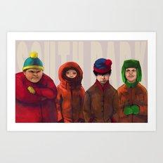 South Park Art Print