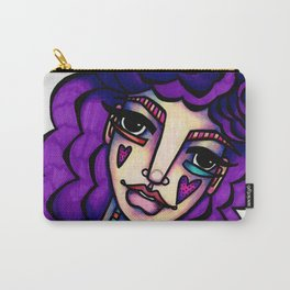 JennyMannoArt  Colored Illustration/Betty Carry-All Pouch