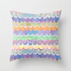 Mia Wave {Orange} Throw Pillow