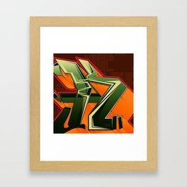 Pumped K Framed Art Print