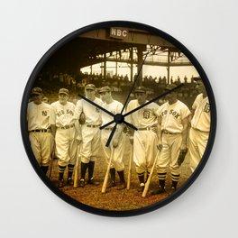 1937 Allstars Wall Clock