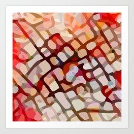 Crackle #5 Art Print