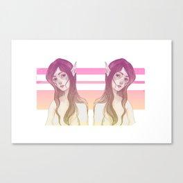 Mermaid pink Canvas Print
