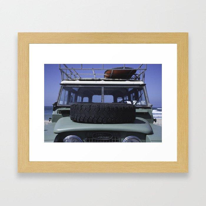 LAND ROVER Framed Art Print