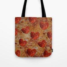 Love Pizza Tote Bag