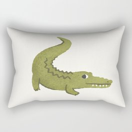Alligator Rectangular Pillow