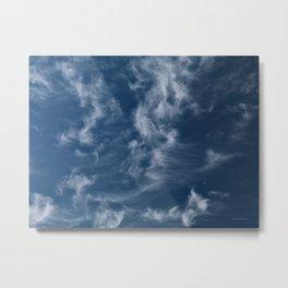 Cirrus Clouds 3 Metal Print