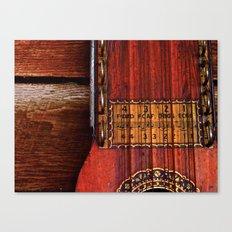 The Good Old Ukelin Canvas Print