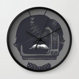 The Classiest TV Set Wall Clock