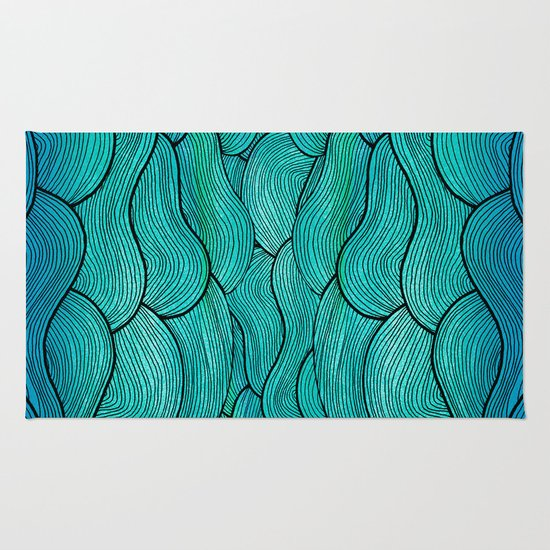 Sea Waves Rug