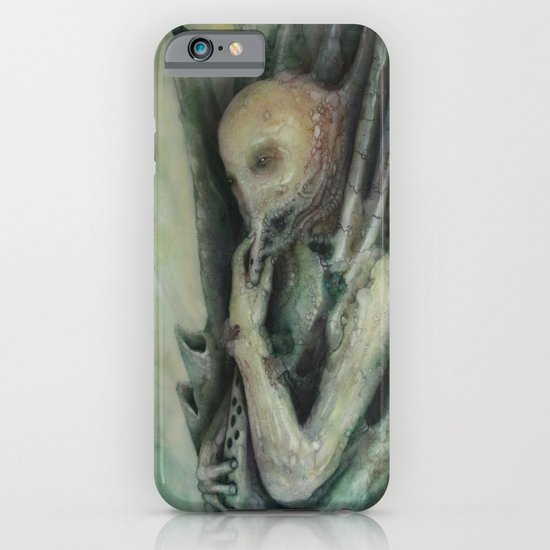 The Bagpipe player iPhone & iPod Case