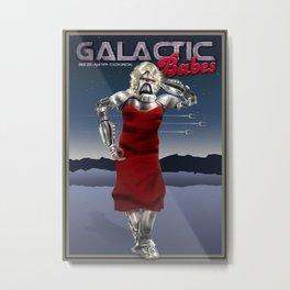 Galactic Cover Girl Metal Print