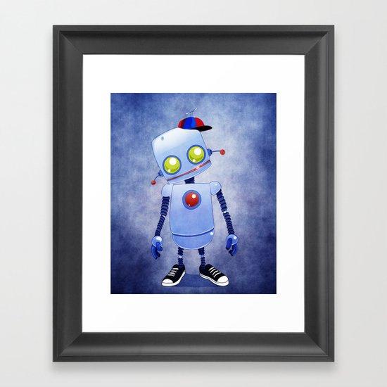 Bobby 5.0 Framed Art Print