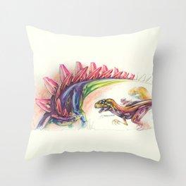 Steakosaurus, I apologize. Throw Pillow