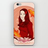 pisces iPhone & iPod Skins featuring Pisces by Vanesa Abati