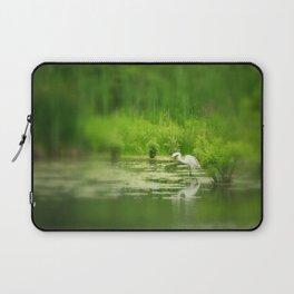 Marsh Egret 2 Laptop Sleeve