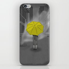 The Girl With The Yellow Umbrella - HIMYM iPhone Skin