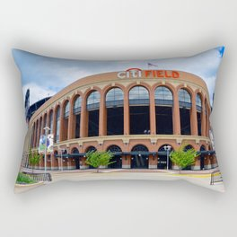 Citi Field Facade Rectangular Pillow