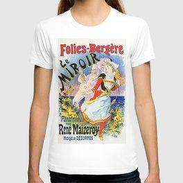 Jules Cheret Folies-Bergere Le Miroir 1896 T-shirt