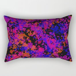 Fluorescent Purple Rectangular Pillow